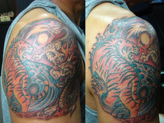 Tatto Parlors on Tigers Tattoo Artworks   San Diego  Ca   Hung S Tattoo Parlor