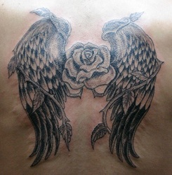 Tatto Parlors on Wings Tattoo Artwork   San Diego  Ca   Hung S Tattoo Parlor